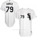 Camiseta Beisbol Hombre Chicago White Sox Jose Abreu 79 Blanco Turn Back The Clock