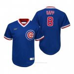 Camiseta Beisbol Nino Chicago Cubs Ian Happ Cooperstown Collection Road Azul