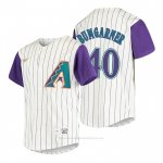 Camiseta Beisbol Nino Arizona Diamondbacks Madison Bumgarner Cooperstown Collection Alterno Crema