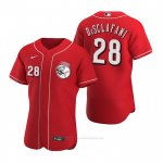 Camiseta Beisbol Hombre Cincinnati Reds Anthony Desclafani Autentico 2020 Alterno Rojo