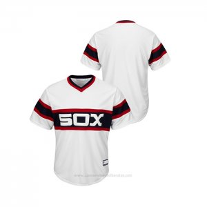 Camiseta Beisbol Hombre Chicago White Sox Cooperstown Collection Big & Tall Blanco
