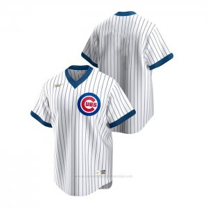 Camiseta Beisbol Hombre Chicago Cubs Cooperstown Collection Blanco