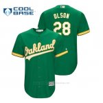 Camiseta Beisbol Hombre Oakland Athletics Matt Olson Cool Base Official Alternato Kelly Green