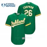 Camiseta Beisbol Hombre Oakland Athletics Matt Chapman Cool Base Official Alternato Kelly Green