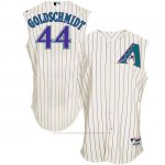 Camiseta Beisbol Hombre Arizona Diamondbacks 44 Paul Goldschmidt Blanco Turn Back The Clock