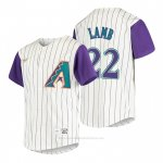 Camiseta Beisbol Nino Arizona Diamondbacks Jake Lamb Cooperstown Collection Alterno Crema