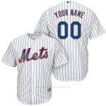 Camiseta New York Mets Personalizada Blanco