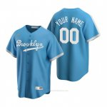 Camiseta Beisbol Hombre Los Angeles Dodgers Personalizada Cooperstown Collection Alterno Azul